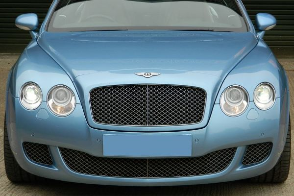 Genuine Bentley Continental GT/GTC (08-11) Dark Chrome Lower Grille Set (Without ACC)